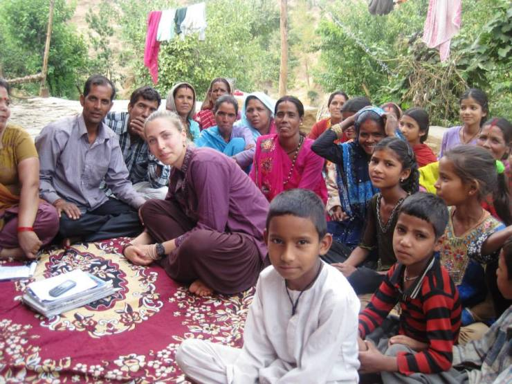 India rural village