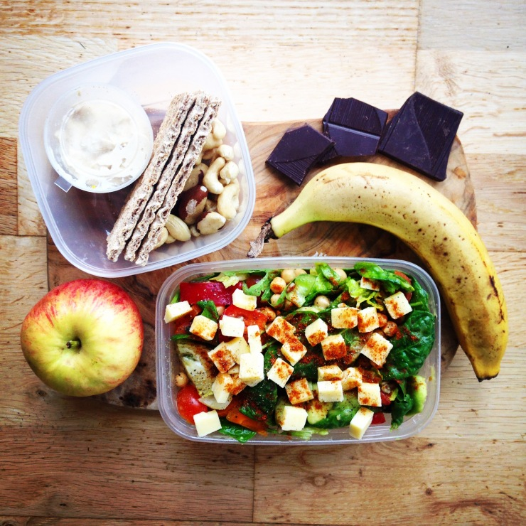 lunch prep